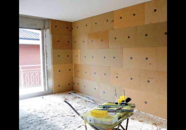 Risanamento con isolamento termico interno bolzano - Isolamento termico soffitto interno ...