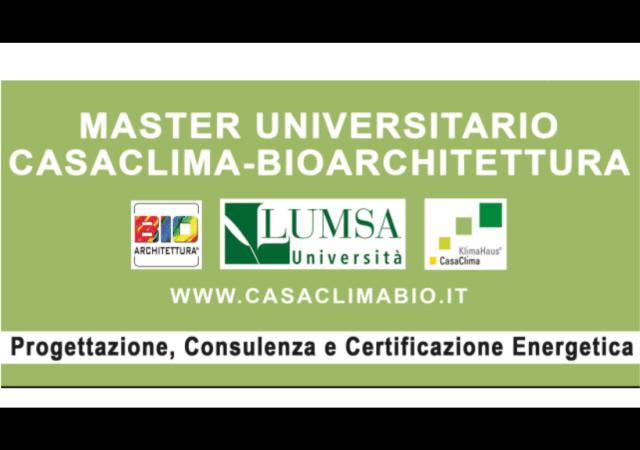 a3561125af 4 borse di studio per il nuovo Master CasaClima-Bioarchitettura 2018/2019