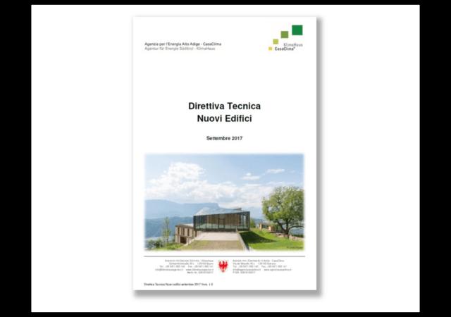 Nuove direttive tecniche casaclima settembre 2017 ape for Casaclima 2017