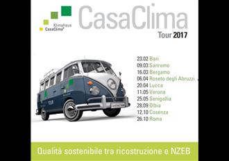 Casaclima tour 2018 for Casaclima 2017