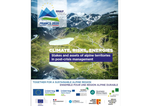4° Conferenza sull'energia EUSALP 30.9.-1.10.: Climate, Risks, Energies