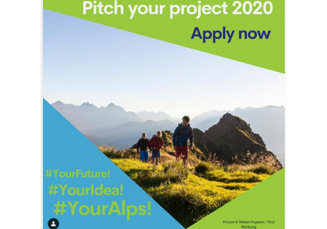 Pitch your project! Youth.shaping.EUSALP