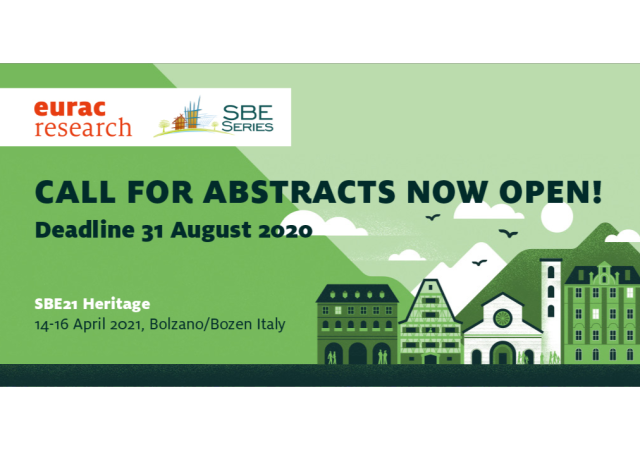 SBE21 Heritage: call 4 abstracts
