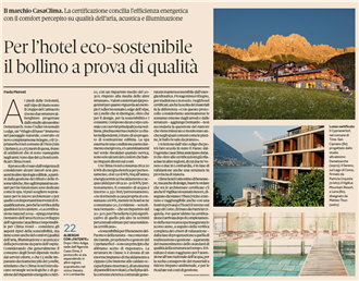 Sole24ore ClimaHotel